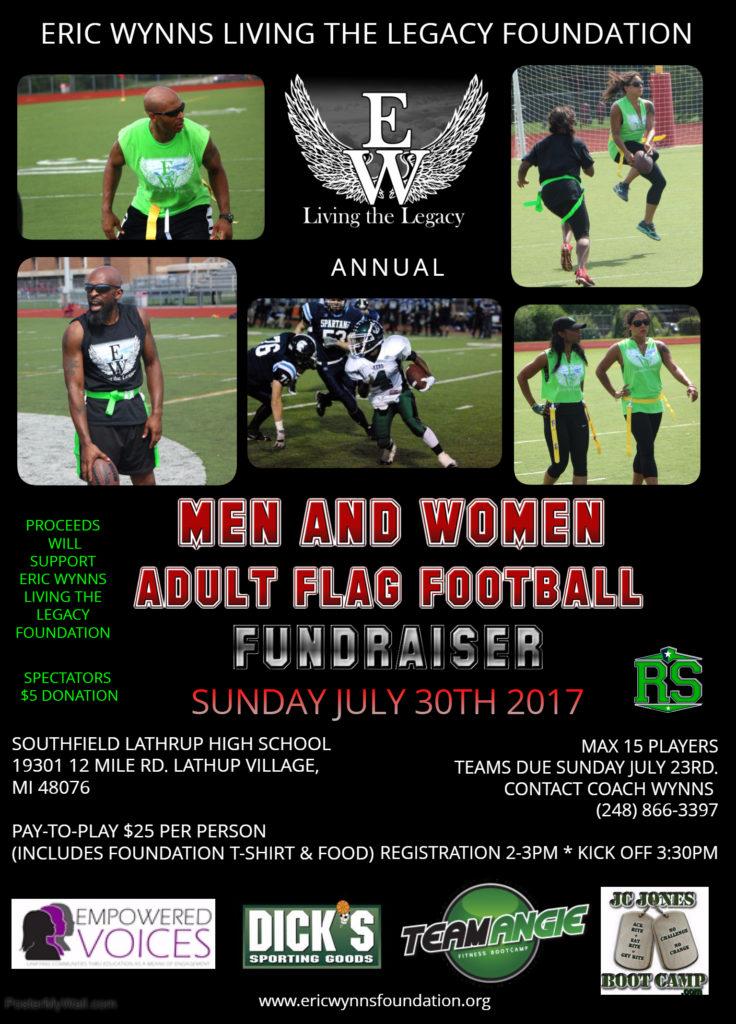 Flag Football Fundraiser